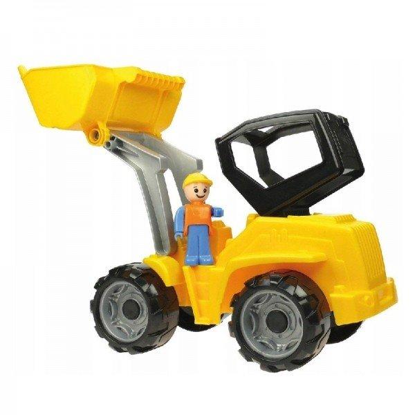 بولدوزر زرد مشکی  Lena 04412 -Truxx shovel loader