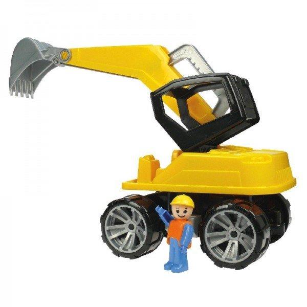 بیل مکانیکی  زرد مشکی Lena 04411 - Truxx excavator