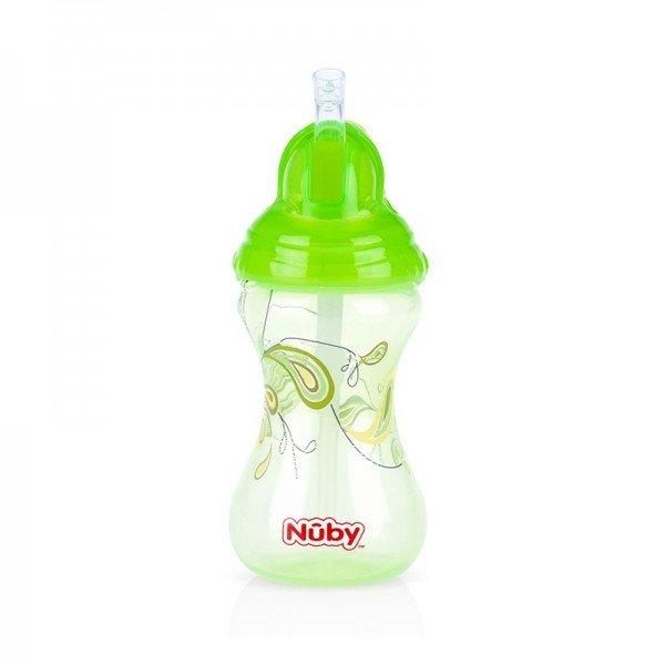 لیوان سبز آبمیوه خوری nuby 10241