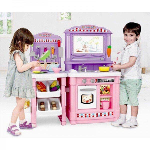 ست آشپزخانه با میز کار و لوازم و تخته مدل 101A