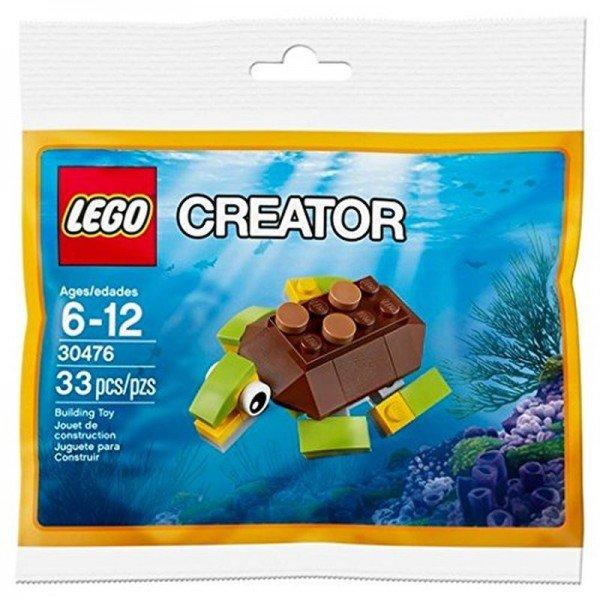 لگو creator مدل لاک پشت lego 30476
