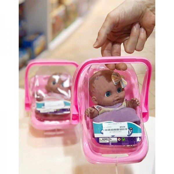 عروسک دخترانه با کریر مدل 4105