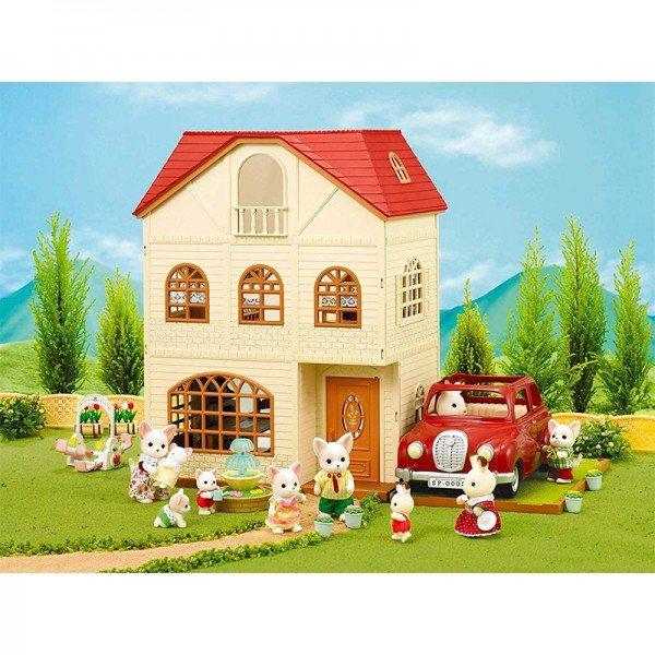خانه عروسک سه طبقه سیلوانیان فامیلیز 2745 sylvanian families