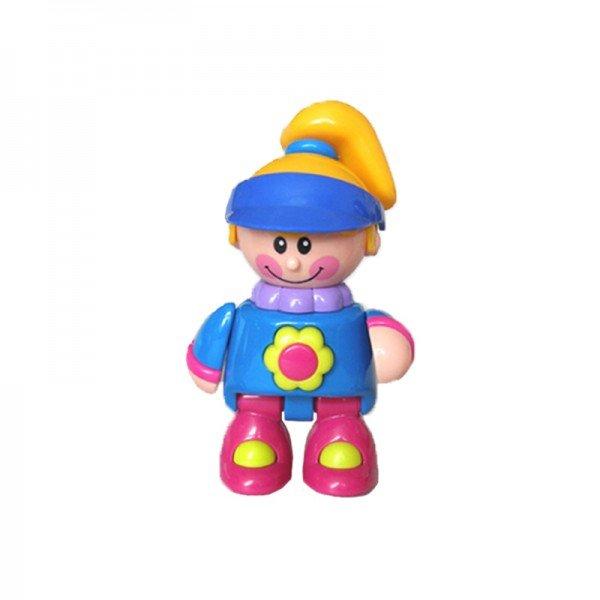آدمک نشکن دختر ورزشکار کلاه آبی  tolo مدل 89606