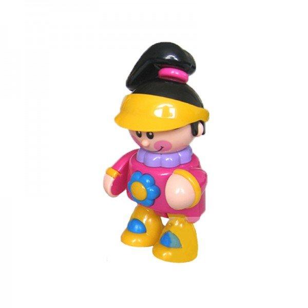 آدمک نشکن دختر ورزشکار کلاه زرد  tolo مدل 89606