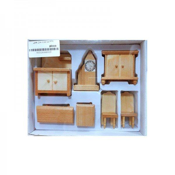 ست لوازم منزل چوبی مدل 429