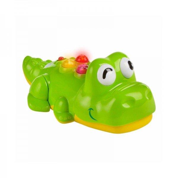 اسباب بازی موزیکال کودک طرح کروکودیل خندان  winfun مدل 00696