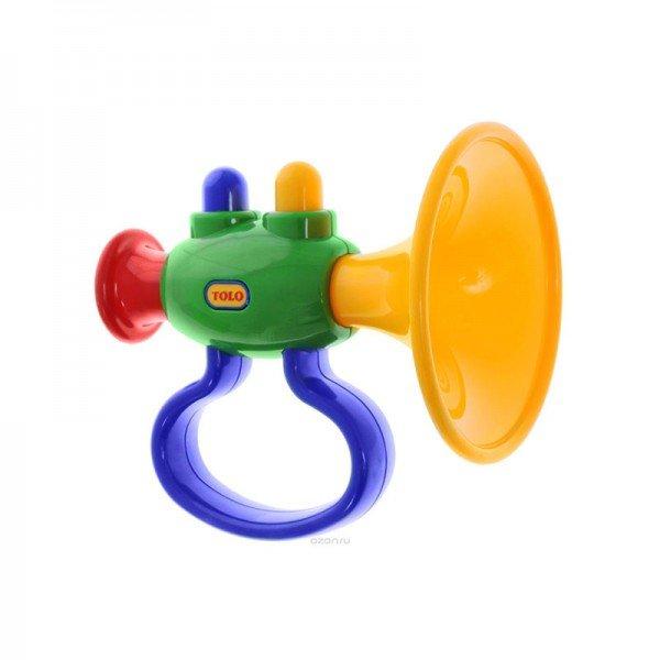 اسباب بازی شیپور رنگ سبز tolo کد 89653