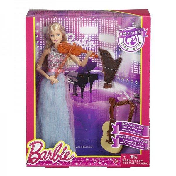 عروسک باربی با ویولون مدل DLG94