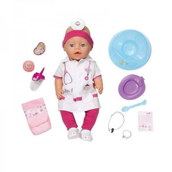 عروسک پزشک Baby Born مدل 819173