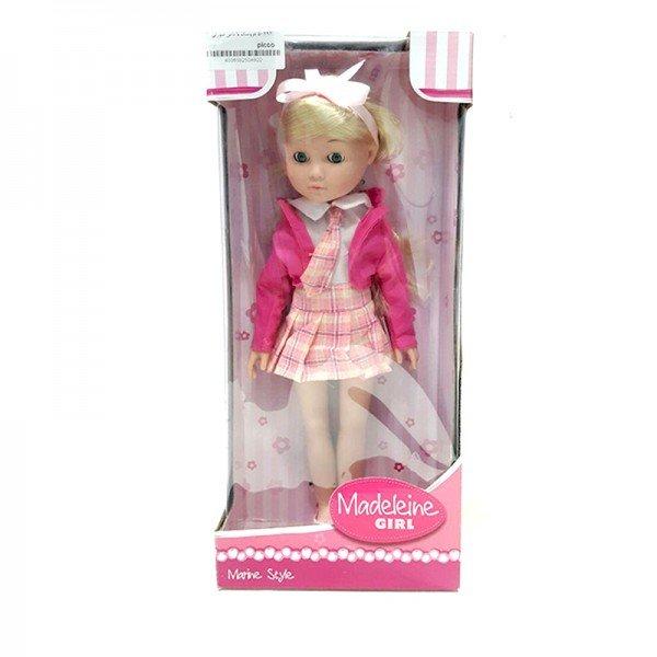 عروسک دخترانه با دامن صورتی مدل 50492
