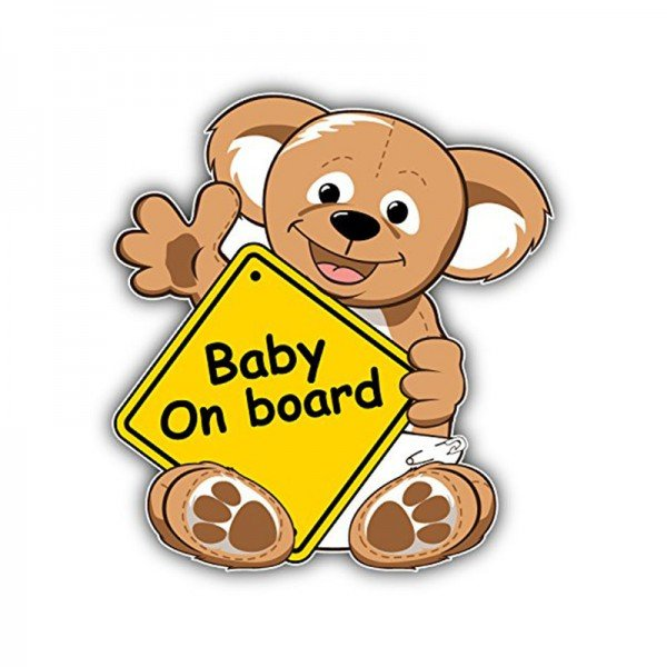 baby on board mother care طرح کوالا مدل M8241