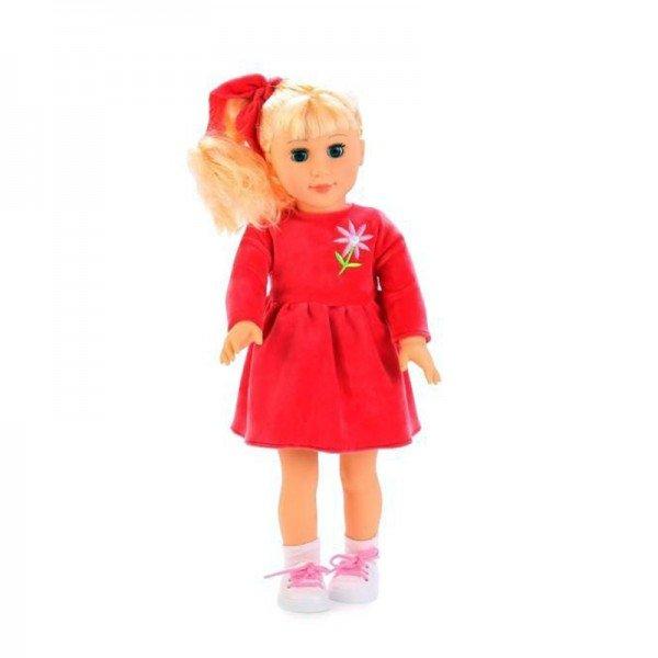عروسک دفا با لباس گلبهی مدل 5508