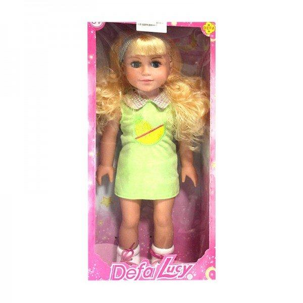 عروسک دفا با لباس سبز مدل 5502