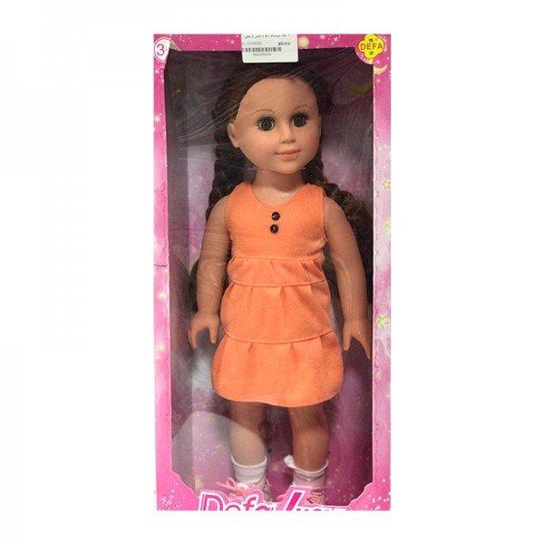 عروسک دفا با لباس نارنجی مدل 5502