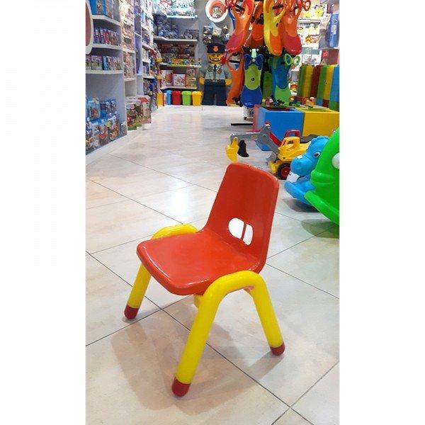 صندلی نارنجی زرد curvy مدل 5107