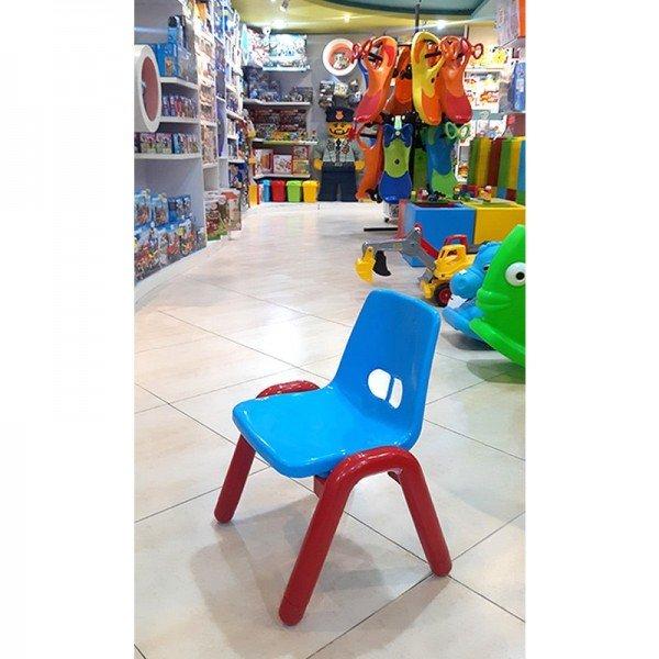 صندلی آبی قرمز  curvy مدل 5107