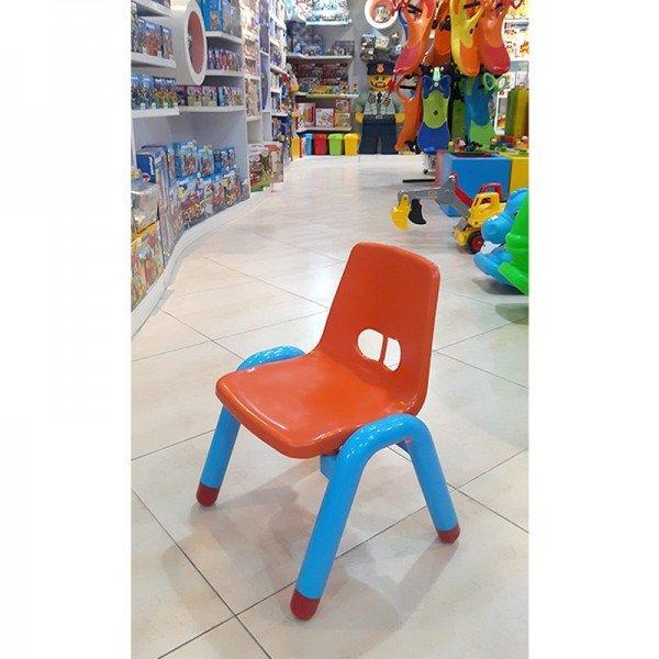 صندلی نارنجی آبی curvy مدل 5107