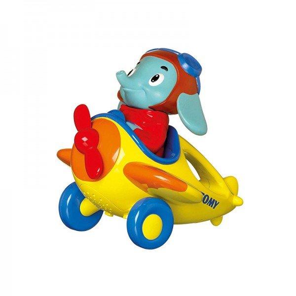 اسباب بازی موزیکال آموزشی فیل خلبان tomy مدل 72202
