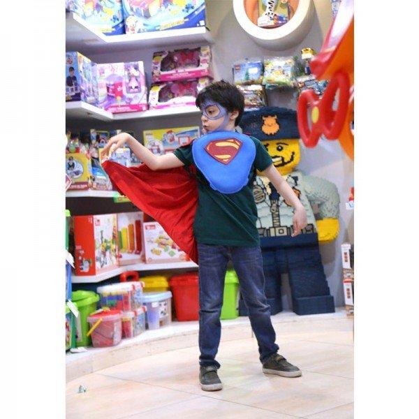 لباس نمایش بالماسکه کودک اورجینال سوپرمن مدل 63608