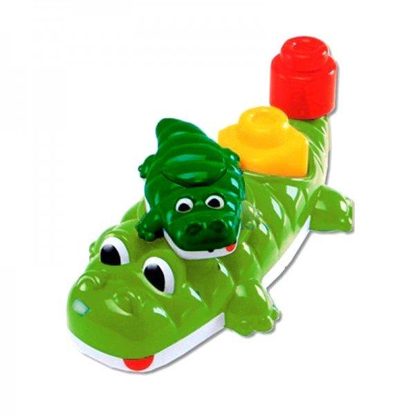 اسباب بازی حمام کودک  تمساح سبز روشن chicco مدل 67258