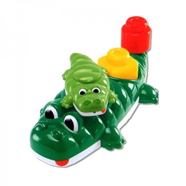 اسباب بازی حمام تمساح سبز تیره chicco مدل 67258