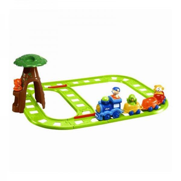 قطار با ریل chicco مدل 68406