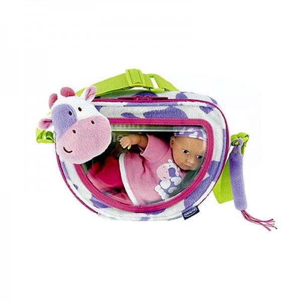 عروسک با کیف طرح گاو chicco مدل 60783