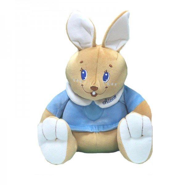 عروسک پارچه ای خرگوش چراغدار  chicco مدل 68642