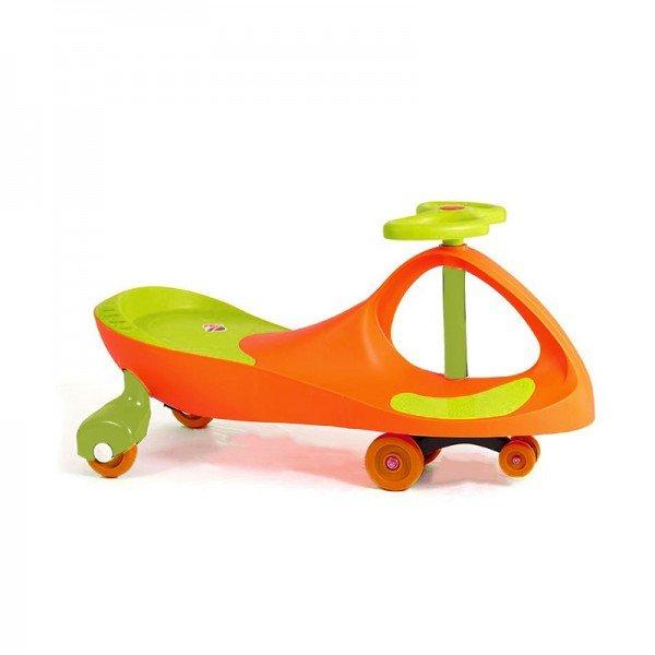 سه چرخه پلاسماکار چرخ ژله ای نارنجی سبز مدل 8097