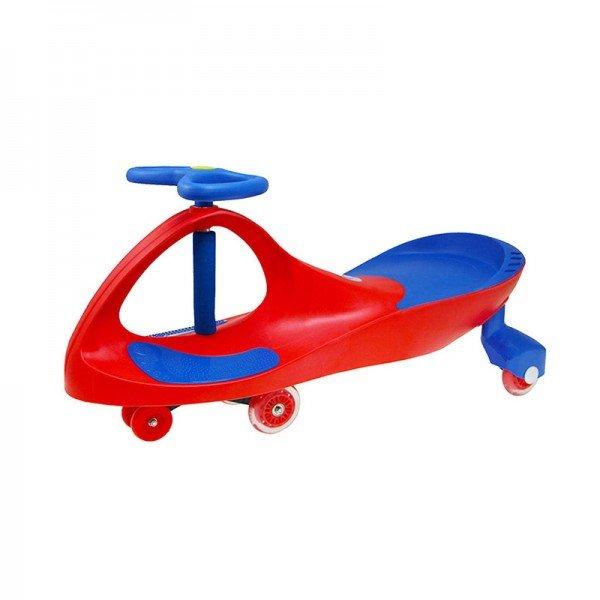 سه چرخه پلاسماکار چرخ ژله ای رنگ قرمز آبی مدل 8097