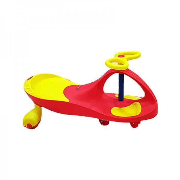 سه چرخه پلاسماکار چرخ ژله ای رنگ قرمز زرد مدل 8097
