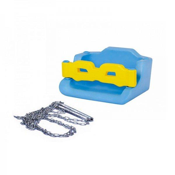 کفی تاب  کودک حفاظ دار آبی با زنجیر مدل 30091