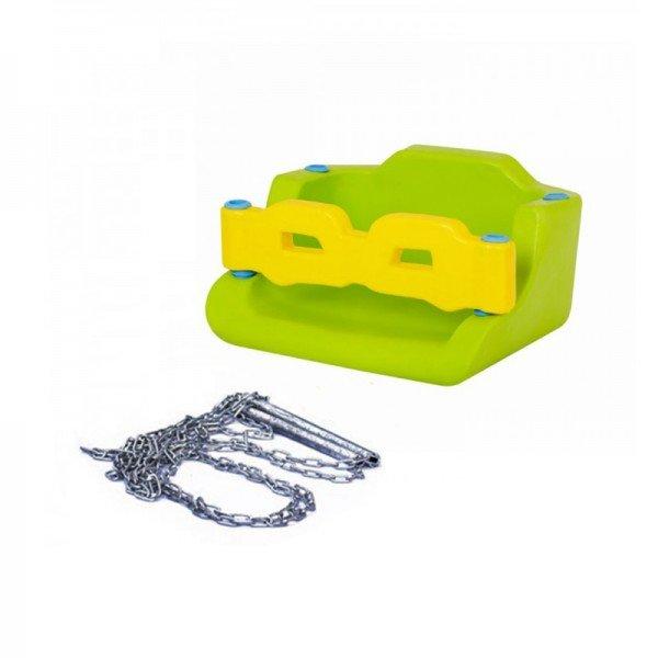 کفی تاب کودک حفاظ دار با زنجیر سبز مدل 30091