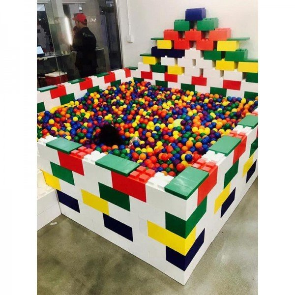 سوپر بلوک های 20 عددی ساخت و ساز  everblock