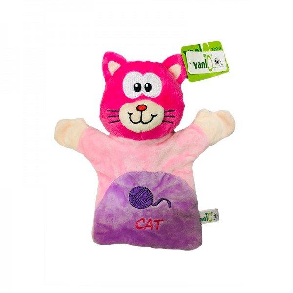 پاپت و عروسک نمایشی گربه مدل 100132