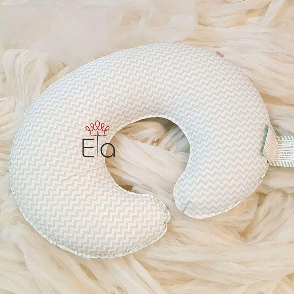 بالش شیردهی طرح زیگ زاگ  elaart مدل 8040