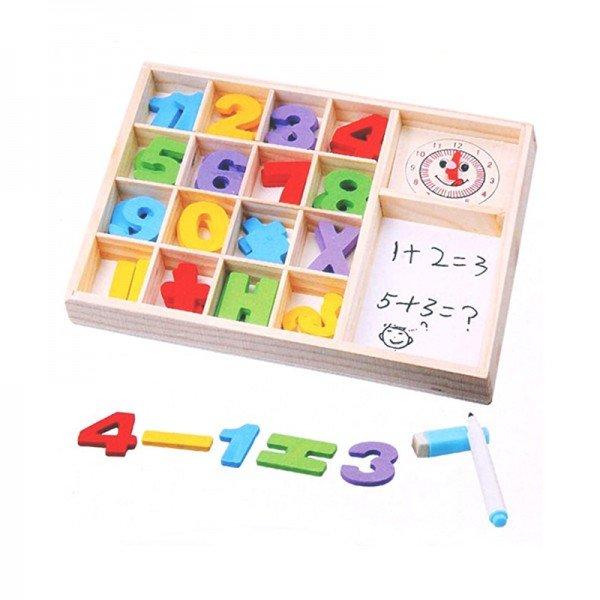 بازی چوبی آموزش ریاضی طرح C مدل 0821