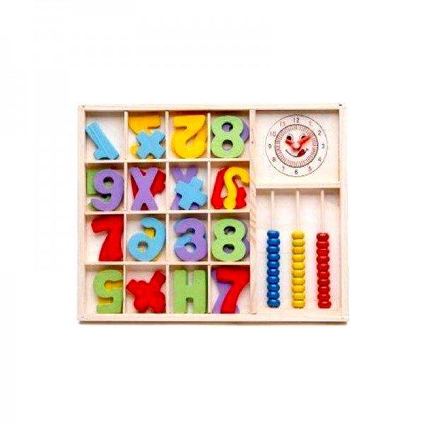 بازی چوبی آموزش ریاضی طرح B مدل 0821