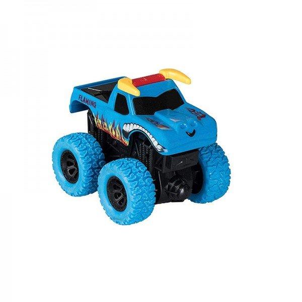 ماشین قدرتی نشکن آبی طرح flaming مدل 998112