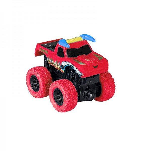 ماشین قدرتی نشکن قرمز طرح flaming مدل 998112