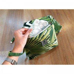 کیف دایپر سفید سبز elaart مدل 80052