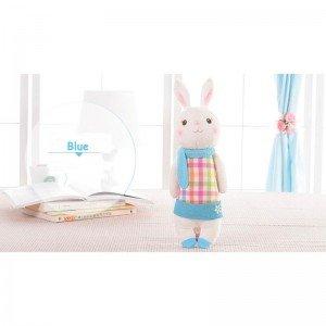 قیمت عروسک خرگوش با لباس چهارخانه مدل JAA931