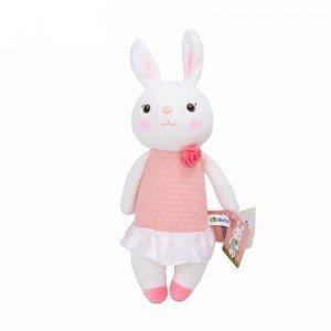 عروسک خرگوش با لباس صورتی مدل JAA931