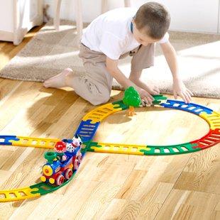 قطار بازی کامل یک هدیه جذاب برای کودکان