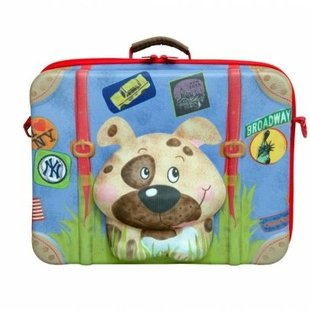 چمدان کودک طرح سگ okiedog مدل 80008