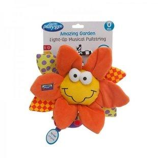 عروسک موزیکال کشی کودک طرح آفتابگردان playgro کد 111899