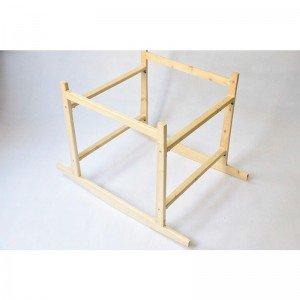 پایه چوبی گهواره حصیری کودک
