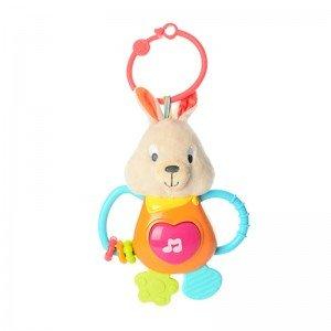 آویز تخت خرگوش موزیکال winfun مدل 00153