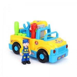 کامیون ابزار Huile Toys مدل 789